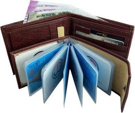 Macberry Best looking Album Brown Wallet