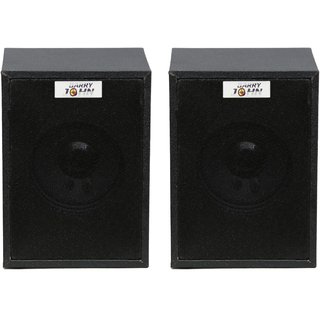 Barry John 016 Wooden Multimedia Speaker System 20W Home Audio Speaker (Black, 2.0 Channel)