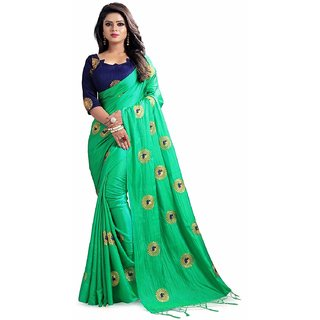 1a6693569f60a Buy white word women s PAPER SILK PARROT Colour saree with blouse ...