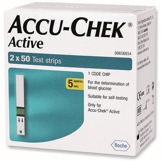 ACCUCHECK ACTIVE 100 TEST STRIPS