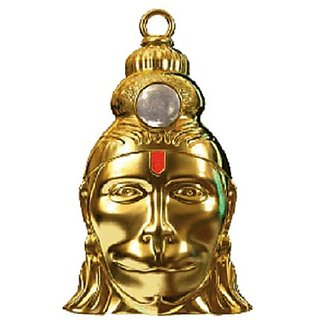 Astrology Goods Shri Hanuman Chalisa Yantra With Gold Plated Chain