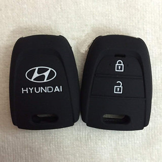 Cp Bigbasket Silicone Key Cover For Hyundai Grand i10 (2) Button Remote Key