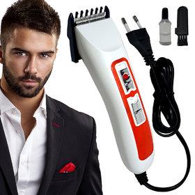 Men's Professional Corded Waterproof Bread Mustache Ultra Trim Hair Trimmer Hair Clipper Shaver Electric Razor