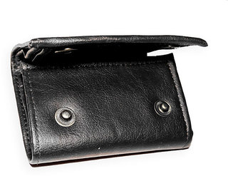 Stylish Leather Trifold Wallet for Men