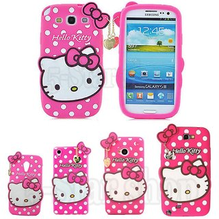 47083c083 Buy Hello Kitty Back Cover for SAMSUNG Galaxy J2 - 2016 (Pink ...