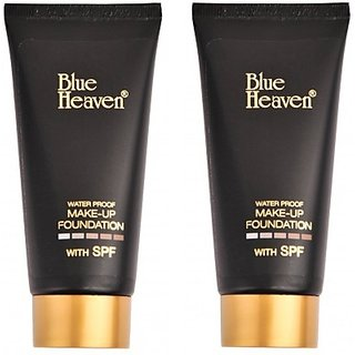 BLUE HEAVEN WATER PROOF FOUNDATION ( PACK UP 2 )