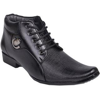 Aadi Black Darby Formal Shoes