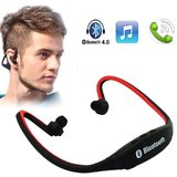 Wireless Bluetooth Headphone BS19 On ear Sports Headset Headphones  with Micro Sd Card Slot and FM Radio Multi Color