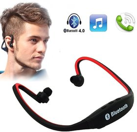 Wireless Bluetooth Headphone BS19 On-ear Sports Headset Headphones (with Micro Sd Card Slot and FM Radio(Multi-Color)