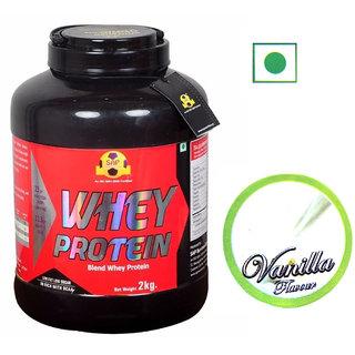 Sap Nutrition Whey Protein 2kg Vanilla Flavour
