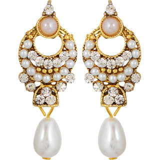 GoldNera Shefali Alloy Drop Earring