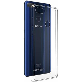 Soft Transparent Back Cover for Infinix Note 5