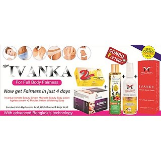 Skin Whitening Cream For Women Combo Kit
