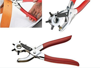 Hole Punch Pliers Revolving Leather Canvas Belt Punch Punching Plier Hole  Leather