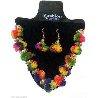 RKD South Indian Crafted Necklace Set - Latest Fashion