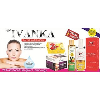 Ivanka Combo Kit For Full Body Whitening Cream