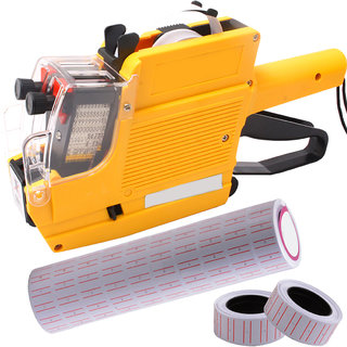 10 Digits Price Labeler Label Tag Tagging Labeling Gun with Free 10 Label  02