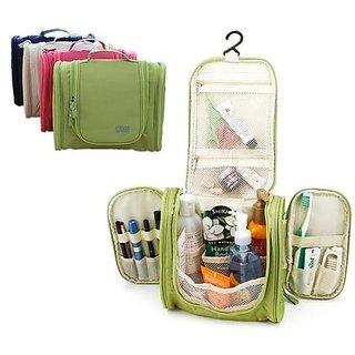 3d40ae4848b9 Portable Large Hanging Toiletry Bag Travel Bag Waterproof Cosmetic makeup  bag Bathroom Storage Makeup Organizer
