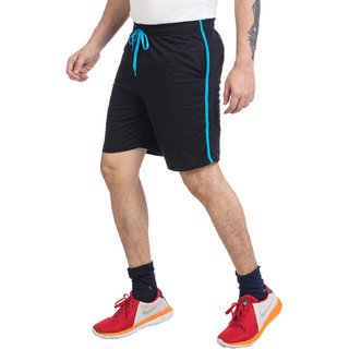 V D Sales, Black Cotton Shorts / Half Track Pant For Casual Wear