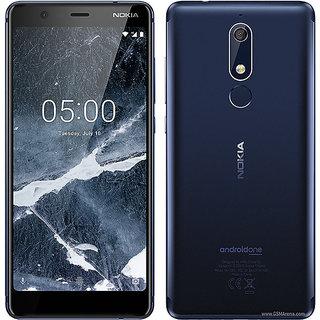 Nokia 5.1 (BlackBlue, 32 GB)  (3 GB RAM)