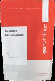 Creatine Monohydrate, 250g -Fizzy Raspberry