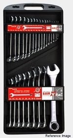 26pcs spanners sets plastic jumbo rack packaging