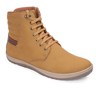 Red Chief Rust High Ankle Leather Boot For Men (RC3550 022)