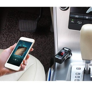 Favourite Deals Car Bluetooth Receiver, FM Radio Stereo Adapter, Car MP3 Player with Bluetooth Handsfree calling