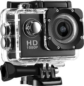 Deltech 1080P 12MP Waterproof Action Camera