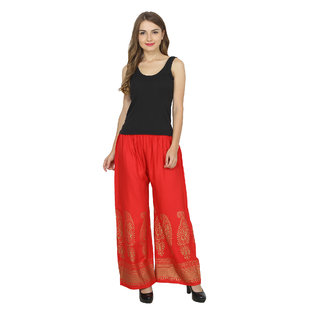 RMG Fashion presents Red Stylish & comfortable Plazo Pants