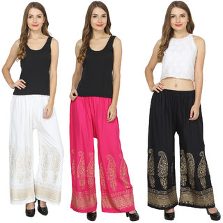RMG Fashion presents Multicolor Stylish & comfortable Plazo Pants