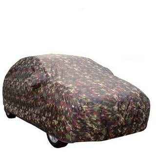 GS- Heavy Duty Multi Stitched Car Body Cover for Maruti Suzuki Alto K10 -(With Side Mirror Pockets)