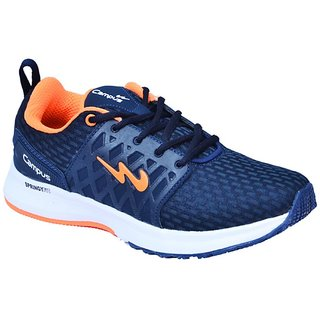 CAMPUS BLUE ORANGE COLOR RUNNING / LIFESTYLE SPORTS SHOES