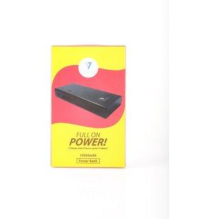 V7 Portable Charger 10000 Mah Li-ion Battery  3 port- Black (V7PC103BK)