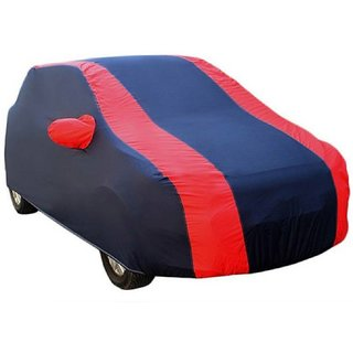 GS- Premium Quality Multi Stitched Waterproof Parachute Red & Blue Car Body Cover for Tata Nano  -(With Side Mirror Pockets)