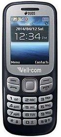 VELL COM 312 DUAL SIM MOBILE PHONE GURU BLUE COLOR