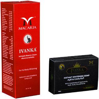 IVANKA INITMATE BEAUTY CREAM 2 IN 1 WITH FAIRNESS SOAP