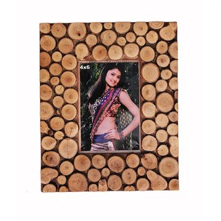 Desi Karigar Wooden Photo Frame For Photo, Wall Hanging Photo Frame, Picture Frame,(Showpiece)