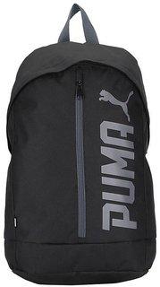 Puma Pioneer Cap Black Polyester Casual Backpacks