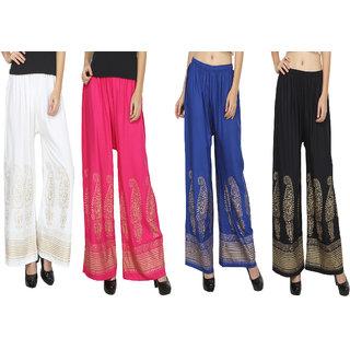 RMG Fashion presents Multicolor Stylish  comfortable Plazo Pants