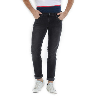 Integriti Men's Black Skinny Fit Jeans