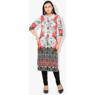Envy9 Multicolor Stitched  Printed  Kurti