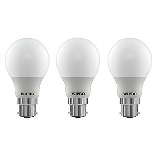 Wipro Garnet 5 Watt LED Bulb (Combo of 3)