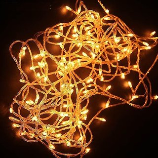 Alpha Serial bulb decoration light for diwali navratra christmas Approx 5 mtr (Pack of 6)