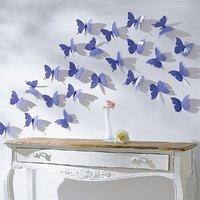 JAAMSO ROYALS DIY 3D Butterfly Wall Sticker Art Decal P