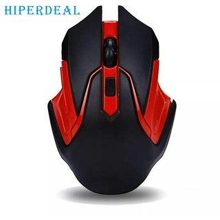 HIPERDEAL 2.4GHz Wireless Optical Gaming Mouse Mice For Computer PC Laptop