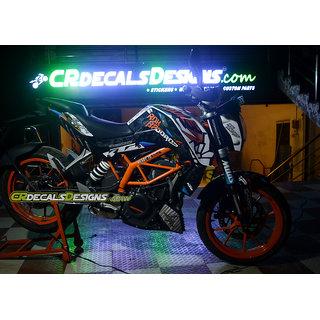 CR Decals KTM Duke FullBody ROK BAGOROS Edition Kit (Duke 125/200/390)