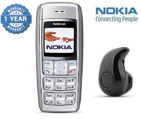 Nokia 1600 / Good Condition/ Certified Pre Owned (1 Year Warranty) with Mini Bluetooth