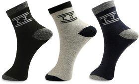 Calvinjones Pack Of 3 Ankle Socks Multicolor