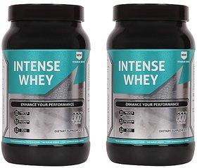 Greenex Nutrition Intense Whey 2lb Milk Masala Pack Of